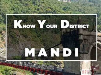 know your districy mandi