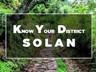 know your district solan