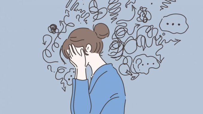 your anxiety is laying to you