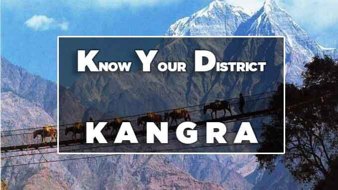 know your district kangra